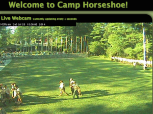 Camp Horseshoe webcam